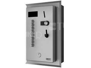 SLZA 02NZ mincovní automat pro 4 až 8/12 sprchy, do zdi, interaktivní ovládání