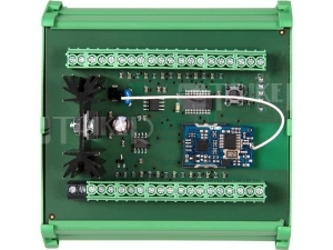 SLZA 16 Rozdělovač průtokoměrů pro použití v sadě s SLZA 02xx