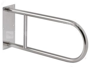 SLZM 03DX Nerezové madlo pevné 830 mm, matné