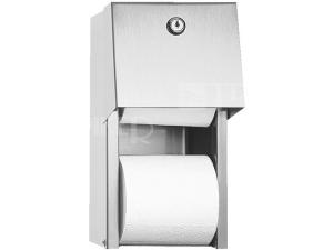 SLZN 26 Zásobník na dvě role toaletního papíru, matný
