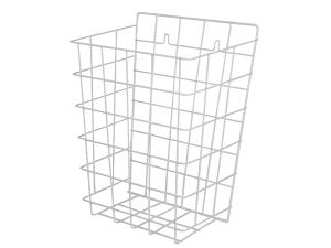 SLZN 40 Drátěný koš, rozměr 385 x 290 x 130 mm, bílý
