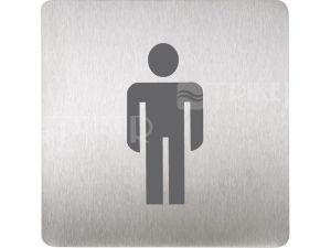 SLZN 44AA Piktogram WC muži 120 x 120 mm