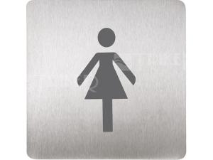 SLZN 44AB Piktogram WC ženy 120 x 120 mm