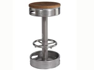 SLZN 92 nerezová barová stolička KEG, 807 x 405 mm, matná