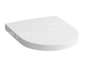 SONAR sedátko se zpomalovacím mechanismem, bílé
