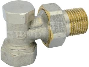 Šroubení radiátorové uzaviratelné rohové VE-4309A