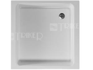 Steffani vanička akrylátová  80 x 80 x 10 cm hladká, bílá