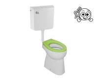 Stojící WC komplet BABY vodorovný, BABY OV, Jika