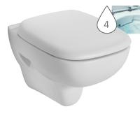 Style klozet závěsný 51cm Rimfree bez splachovacího kruhu bílý, L23120000, Kolo