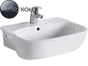 Style umyvadlo polozápustné 55 x 44,5 cm bílé+REFLEX