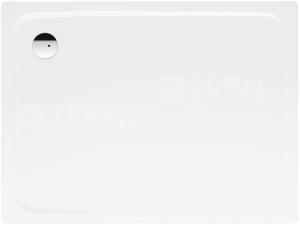 Superplan vanička ocelová 3,5 mm 80 x 120 x 2,5 cm 389-1, bílá