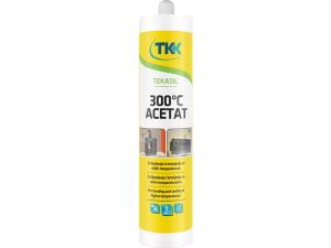 TEKASIL ACETÁT 300°C silikonový tmel 300 ml