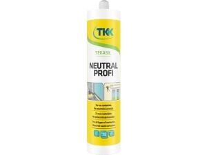 TEKASIL NEUTRAL PROFI silikonový tmel blistr 60 ml bílý