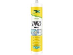 TEKASIL SANITAR ACETÁT PROFI silikonový tmel 300 ml bílý