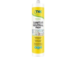 TEKASIL SANITAR NEUTRAL PROFI silikonový tmel 300 ml bílý