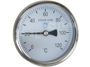 Teploměr 7008 AZ 63 mm příložný 0-120°C