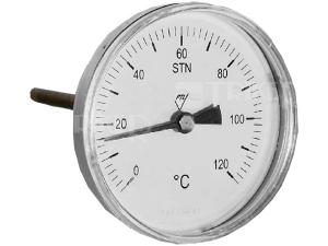 Teploměr 7009 AZ 63 mm zadní