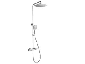 Termo sprchová baterie termostatická TD 091.00/150 shlavovou sprchou a příslušenstvím, chrom