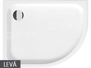 Tigo vanička sprchová keramická 100 x 80cm levá bílá