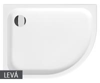 Tigo vanička sprchová keramická 100 x 80cm levá bílá, H8522100000001, Jika