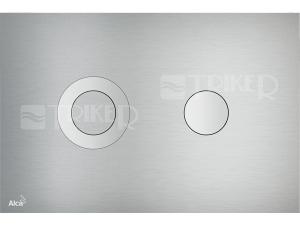 Tlačítko ovládací Alca TURN kovové mat/lesk