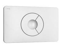 Tlačítko ovládací Jika PL9 Dual Flush, bílé, H8936760000001, Jika