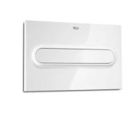 Tlačítko ovládací Roca PL1 Dual Flush bílá matný chrom, A890095005, Roca