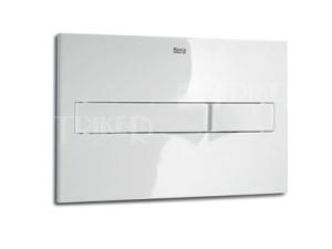 Tlačítko ovládací Roca PL2 Dual Flush bílé