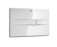 Tlačítko ovládací Roca PL2 Dual Flush bílá matný chrom, A890096005, Roca