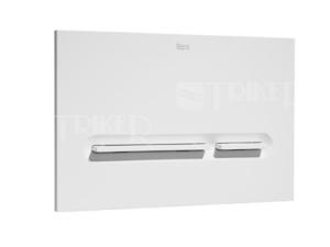 Tlačítko ovládací Roca PL5 Dual Flush bílé
