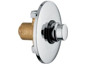Tlačný ventil pisoárový/sprchový podomítkový s regulací VC0008/1 chrom
