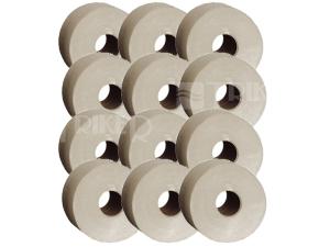 Toaletní papír ECONOMY 19 cm (balení 12 ks)