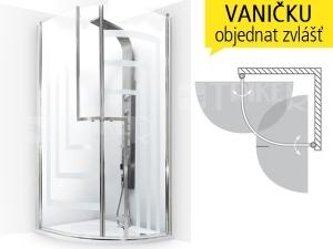 TR1 DESIGN Plus sprchový kout