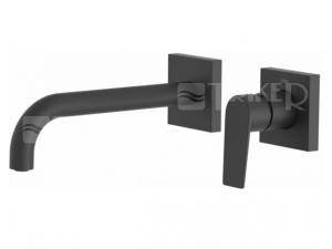 Tres Project umyvadlová baterie černá mat 170 mm