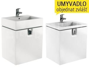 Twins skříňka se zásuvkou pod umyvadlo 60 cm