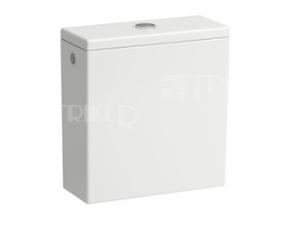 Val nádrž kombinační dual flush, zadní přívod vody, bílá