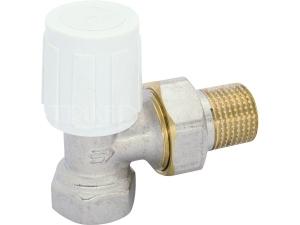 Ventil radiátorový rohový VE-4233A DN10 3/8