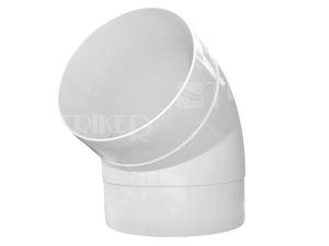 Ventilační koleno D/KO trubkové 67°