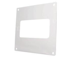 Ventilační montážní rámeček D/UKP nástěnný pro plochý kanál