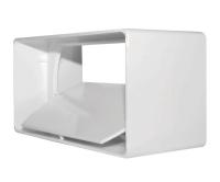 Ventilační spojka plochá plus zpětná klapka 110 x 55mm, D/LPP 110x55, Dospel