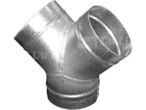 Ventilační Y-kus kovový METAL-K Y 100 mm