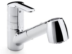 Victoria dřezová baterie s vytahovací sprchou