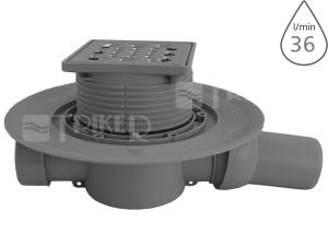 Vpusť podlahová 4935.1 boční odpad 50/40mm