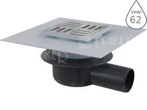 Vpusť podlahová s límcem APV26C boční odpad