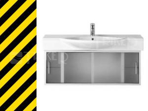 Výprodej CASE skříňka pod umyvadlo 116 cm bílá