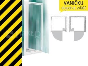 Výprodej CDO 1/800 bílá/transparent sprchové dveře