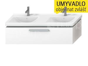 Výprodej Cubito skříňka pod umyvadlo 130 cm 1 zásuvka, bílá