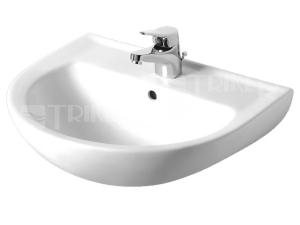 Výprodej Eurovit umyvadlo 55 x 44,5 cm s otvorem bílé