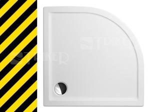 Výprodej Flat round vanička 100x100x5cm R550 bílá