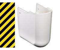 Výprodej_Gustavsberg Artic kryt sifonu bílý, 72289901, Gustavsberg